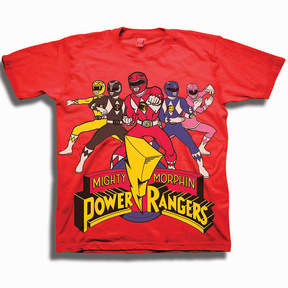 Freeze Toddler Boys Graphic Tees Power Rangers Graphic T-Shirt-Toddler Boys
