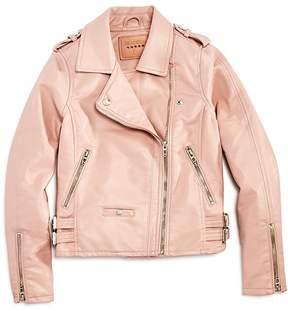 Blank NYC BLANKNYC Girls' Faux-Leather Moto Jacket - Big Kid