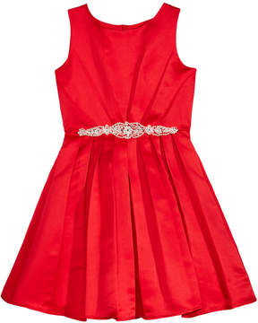 Blush by Us Angels Embellished Waist Dress, Big Girls (7-16)