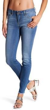 Articles of Society Sarah Frayed Distressed Hem Skinny Jeans