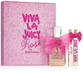 Juicy Couture 3-Pc. Viva La Juicy Rose Eau de Parfum Gift Set