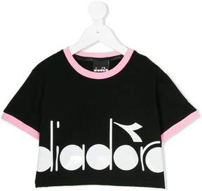 Diadora Junior logo print T-shirt