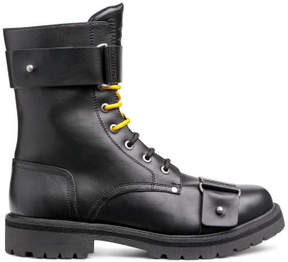 H&M Boots with buckles - Black