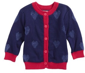 Hatley Infant Girl's Be Still My Heart Cardigan