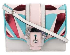 Paula Cademartori Anna Leather Crossbody Bag