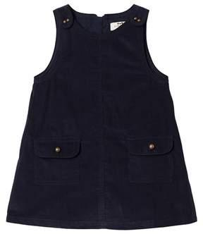 Cyrillus Navy Sleeveless Pocket Dress
