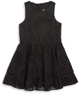 Milly Minis Toddler's, Little Girl's & Girl's Whitney Eyelet Dress
