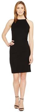 Christin Michaels Sigrid High Neck Spaghetti Strap Dress Women's Dress