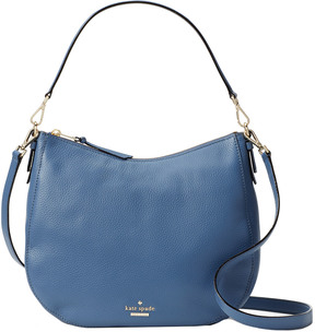 Kate Spade Jackson Street Mylie Leather Hobo - BLUE - STYLE