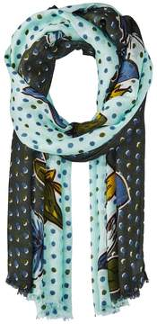 Vera Bradley Soft Fringe Scarf Scarves