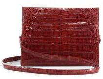 Nancy Gonzalez Small Crocodile Clutch