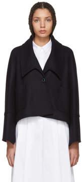 Jil Sander Navy Navy Felted Wool Jacket