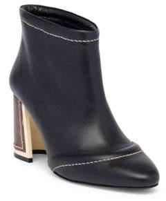 Marni Block Heel Leather Booties