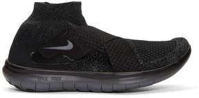 Nike Black Free RN Motion Sneakers