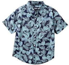 Trunks Surf and Swim CO. Fern & Palm Tropical Shirt (Big Boys)