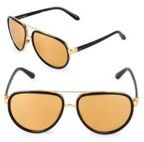 Linda Farrow 61MM Oval Sunglasses