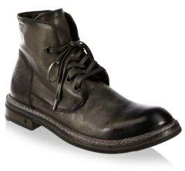 John Varvatos Ellis Leather Ankle Boots