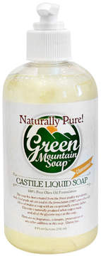 Smallflower Unscented Liquid Soap Pump by Green Mountain Soap (8oz Liquid Soap)
