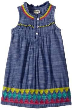 Hatley Rainfall Chambray Dress Girl's Dress