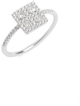 Bony Levy Women's Amara Diamond Square Ring (Nordstrom Exclusive)