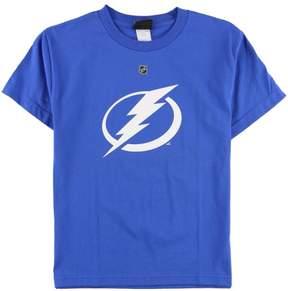 Reebok Boys Flash Lightning Graphic T-Shirt Blue L - Big Kids (8-20)