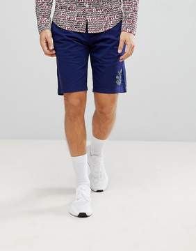 Love Moschino Chino Shorts with Logo
