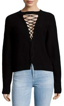 Bec & Bridge Jessie James Lace-Up Sweater