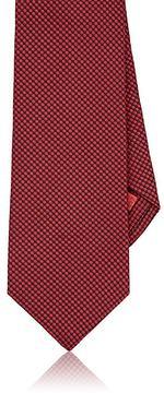 Isaia Men's Circle-Pattern Silk Necktie