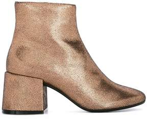 MM6 MAISON MARGIELA metallic ankle boots