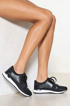 Nasty Gal On the Run Sneaker
