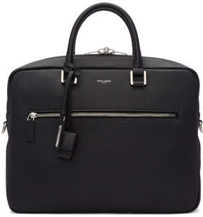 Saint Laurent Black Sac de Jour Souple Briefcase