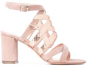 Jean-Michel Cazabat metallic strap sandals