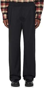 Public School Men's Wool Twill Wide-Leg Trousers