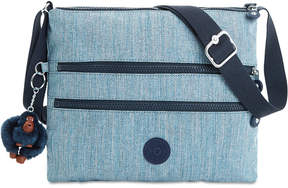 Kipling Alvar Medium Denim Crossbody