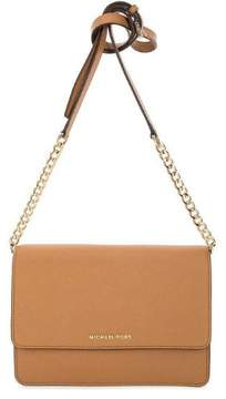 Michael Kors Daniela Large Leather Crossbody - Tan - 32T6GDDC3L-532 - ONE COLOR - STYLE