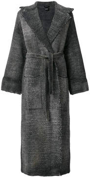 Avant Toi belted robe