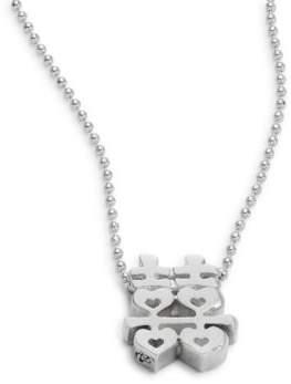 Alex Woo Faith Double Happiness Pendant Necklace