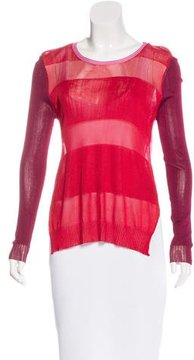 Camilla And Marc Colorblock Long Sleeve Top
