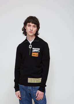 J.W.Anderson Bubblegum Patches Long Sleeve Polo
