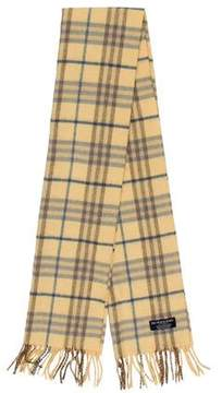 Burberry Cashmere House Check Scarf