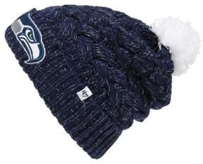 '47 Junior Women's 'Seattle Seahawks' Pom Beanie - Blue