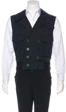 Balenciaga 2003 Double-Breasted Vest