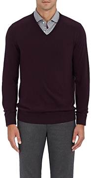 Boglioli Men's Fine Gauge-Knit Virgin Wool Sweater