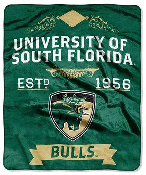 Northwest Company South Florida Bulls 50x60in Plush Throw Team Spirit