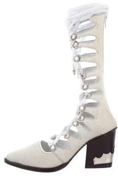 Toga Pulla Ponyhair Gladiator Boots w/ Tags