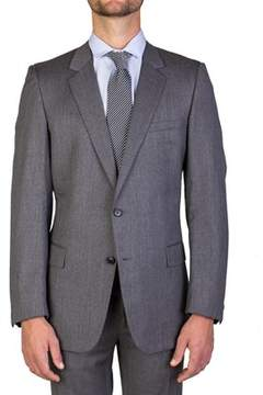 Christian Dior Men's Wool Two-button Suit Grey.