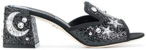 Dolce & Gabbana star & moon embellished mules
