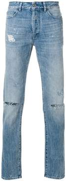 Marcelo Burlon County of Milan ripped slim-fit jeans