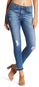 Big Star Ella High Rise Released Hem Skinny Ankle Jeans