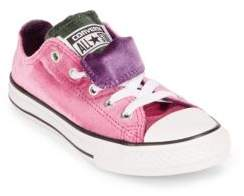Converse Kid's Double Tongue Velvet Sneakers